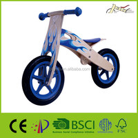 Flame Wooden Balance Boys Bikes For