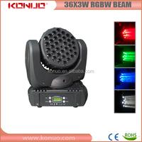 Guangzhou Mac 101 RGBW quad-color 3w 36 led moving head light