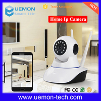 Best selling IR night vision P2P wifi Double antenna wireless dome hidden ip camera