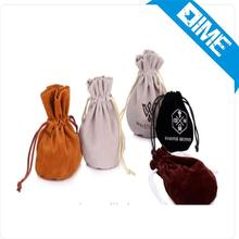 2016 Printed Microfiber Velvet Jewelry Pouch Soft High-End Bag