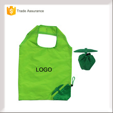 China factory made full colors cloth uesed folding fruit shape shopping bags