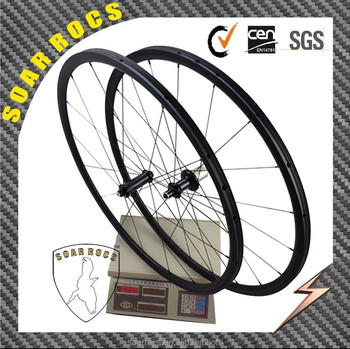 Only 996g carbon wheels road 24mm tubular 3K matte with Carbon R36 hub 16h/20h super light wheels