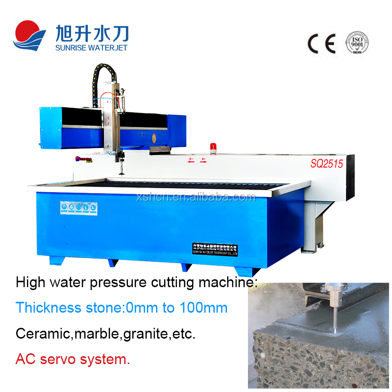Ultra high pressure 400Mpa water jet KMT waterjet cutter