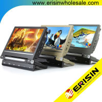 Eirisn ES398 9 inch Car Pillow Headrest Monitor DVD Player