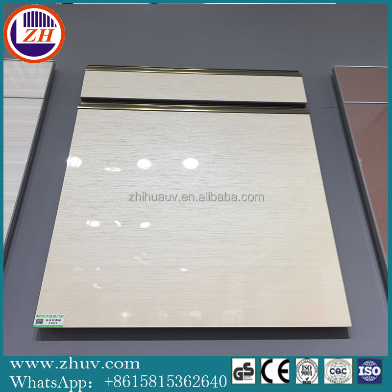 LCK Series PVC film Laminated MDF with uv Coated