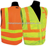 Reflective Apparel with PVC hi vis tape ANSI CSA EN471 CLASS 2