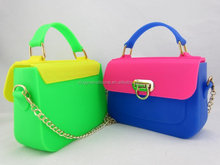 New Fashion Waterproof Silicone Bags for ladies, Ladies Bags Handbag