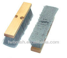 FSC certificate 300mm wooden floor brush /broom soft fiber