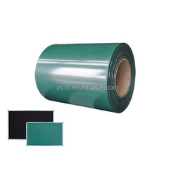 Hexing brand 5H hardness color steel green paint ppgi for green writing board steel