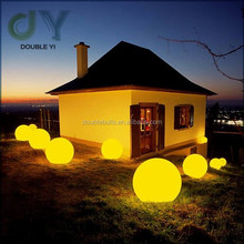 Custom Set of 12 Mood Light Garden Deco Balls ( Light up Orbs ) led globe light bulbs Waterproof ball