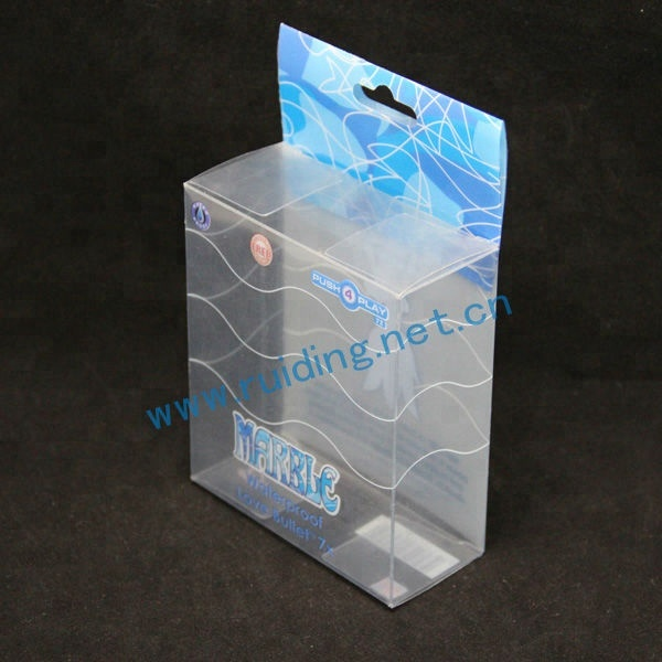 printing custom plastic clear cube boxes for packaging