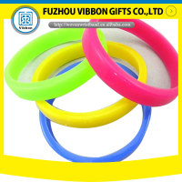 Wide Colorful Silicone bracelet hand Bands