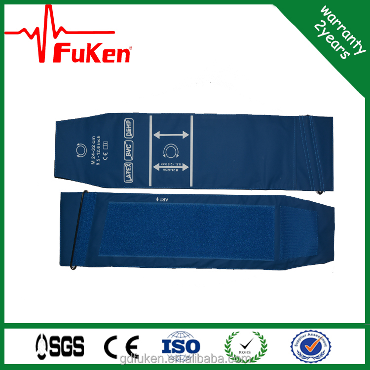 reusable blood pressure cuff in blood pressure meter for bp monitor machine