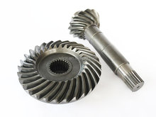 spiral gear for agricultural machinery