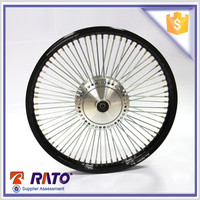 For 70cc high quality and cheap black aluminum Motorcycle Wheels