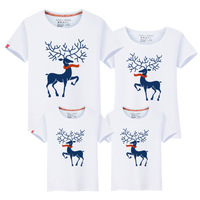 HT-PCC summer parent-child clothing new stylish t shirt,2017 hot sale family wear clothes hot selling family matching clothing