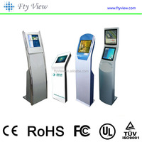 Touch Screen Queue Management System Ticket dispenser Currency Exchange Machine