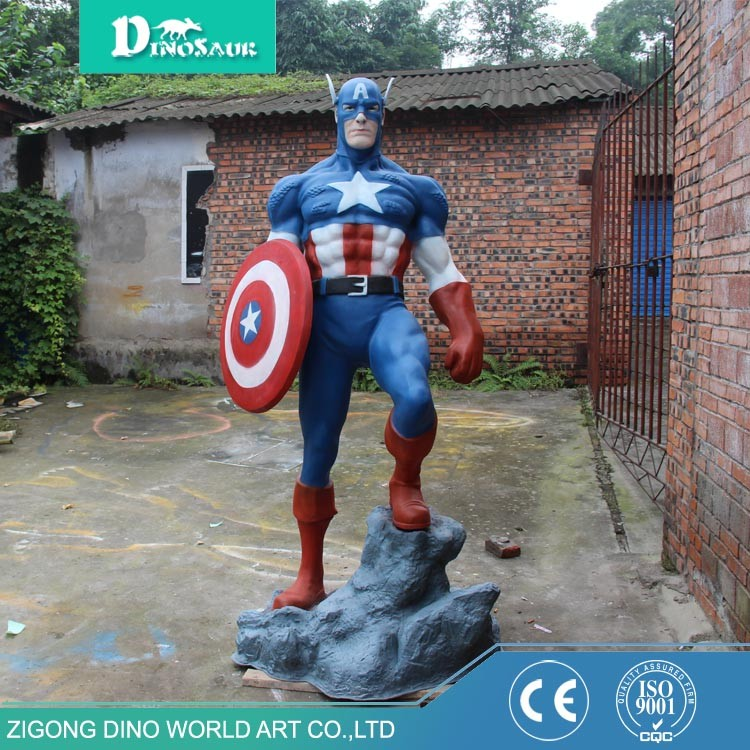 Dino World 1:1 Scale Fiberglass Movie Character Statue