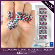 Nail Foil Sticker of Custom design Wraps with Nail Sticker Wholesale