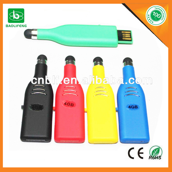 wine bottle usb flash drive for wholesale custom