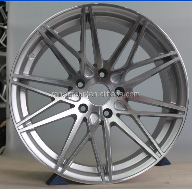 "new racing aluminum wheel rim/ 18"" car alloy wheel 5x120"