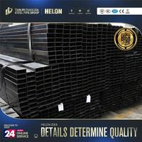 galvanized steel square pipes Professional black annealed square pipes