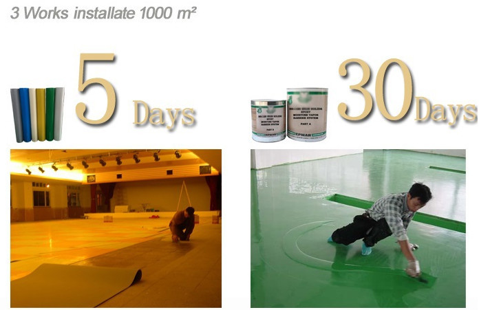 China Top 5 - Royllent 2MM Two Pack High Quality Heavy Duty Stone Hard Epoxy Resin Self Leveling Epoxy Flooring