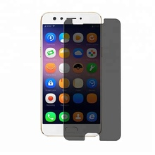 2.5D Tempered Glass Mobile Phone Privacy Screen Guard For OPPO F3