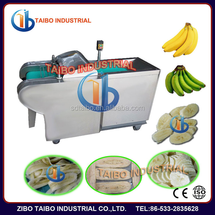 High capacity automatic banana chips slicing machine banana chips cutter