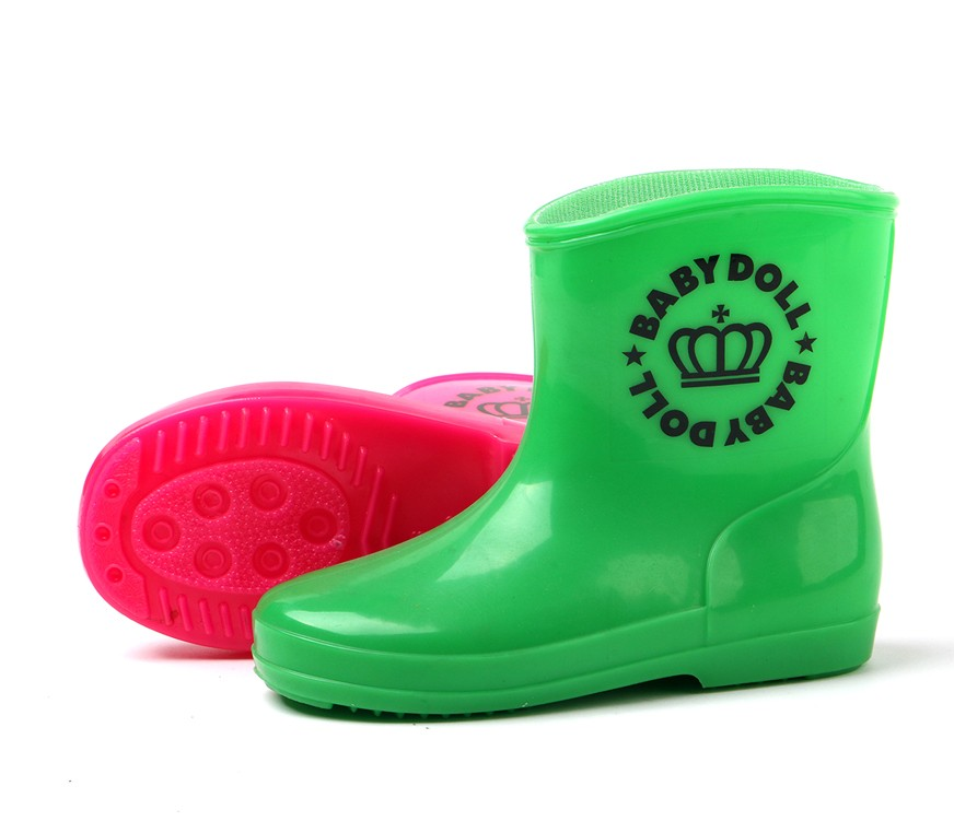 high quality baby kids girls colorful rain boots beautiful gumboots cute wellington wellies