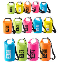 Outdoor floating waterproof dry bag backpack PVC TPU ocean pack dry bag camping dry bag