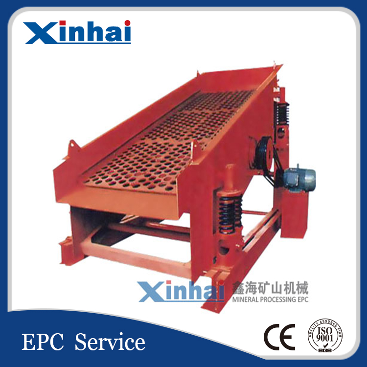High Efficiency And Low Price DZS Linear Vibrating Screen Separator