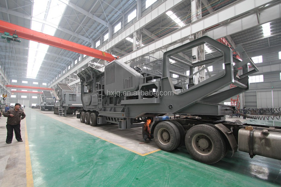 Hot sell Mobile cone crusher plant