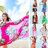 latest design women chiffon high quality holidays beach pareo sarong