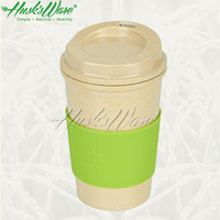 US FDA, PBA FREE, LFGB, REACH, ROHS, CPSIA pasted screw lid coffee cup with straw