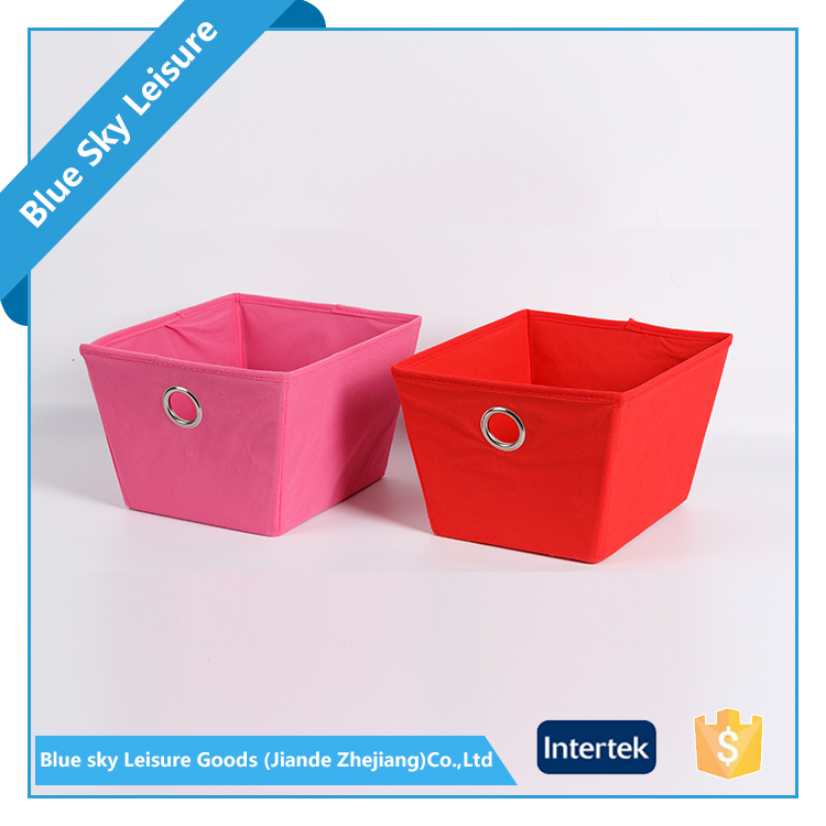 Factory OEM Kids PP Non Woven Fabric Collapsible Clothes Mobile Phone Storage Box