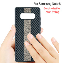 Factory Wholesale cover for samsung galaxy note 8 PU Leather Phone Case Fashion Creative Back Cover