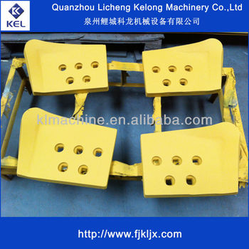 Heat Treating D50 Dozer Cutting Edge End Bit