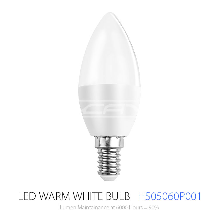 Energy Saving high lumen E14/E27 led bulb,7w-22w AC85-265V led candle bulb light