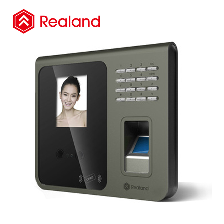 China supplier Biometric fingerprint scanner time and attendance with face scanner