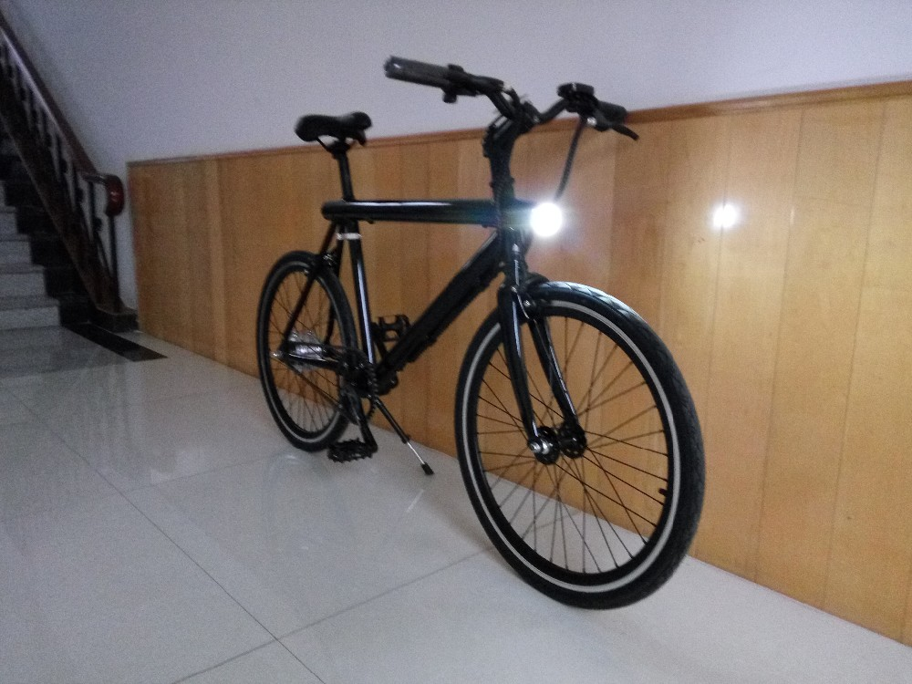 hybird hidden battery aluminium 180W light electric bicycles