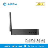 2g ram 16g flash 2 external antennas H8 Plus mini pc RK3368 octa core 4K android 5.1 tv box OTT Box