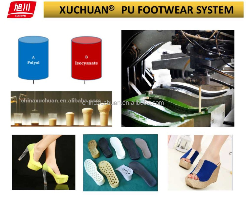 Polyurethane isocyanate for Shoe Sole / PU resin for footwear