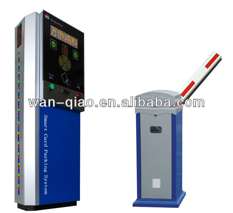 Barcode Ticket Parking System for High Traffic Flow Shopping Mall