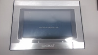 "Chinese Display Manufacturer UniMAT 7"" Touch Screen Panel Low Cost HMI"