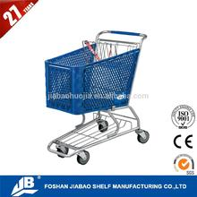 european style cheap shopping trolley smart cart bag With Wheels