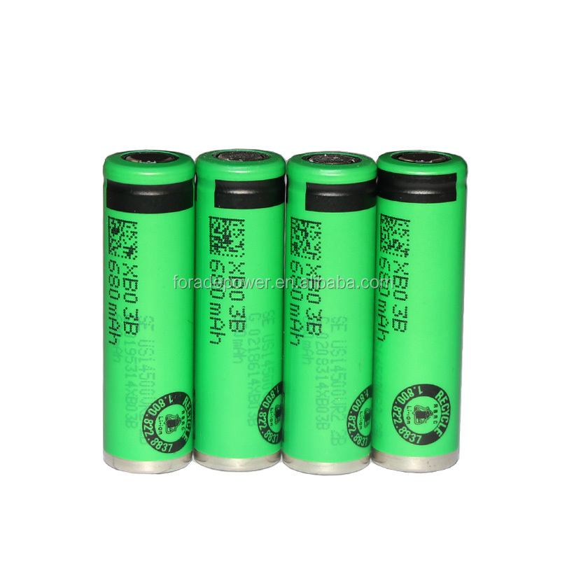 Original 3.6V 14500 US14500VR2 680mAh Li-ion Battery For Sony