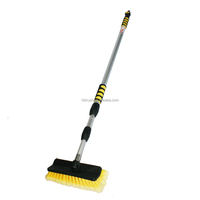 NEW 3M 9FT Telescopic window cleaning brush with water fed pole