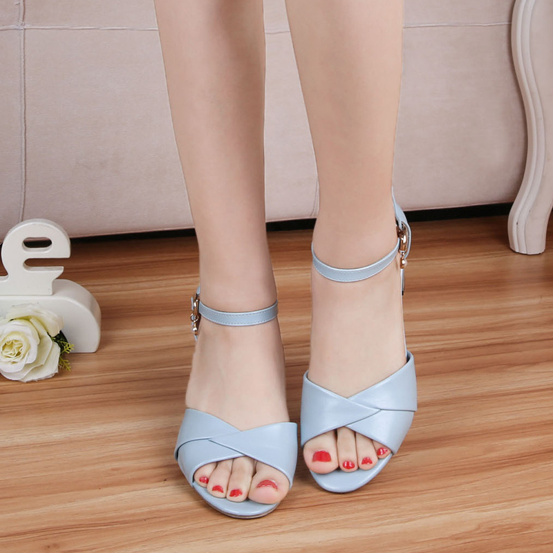 23bbeb6d90d Detail Feedback Questions about Female rhinestone sandals high heels ...
