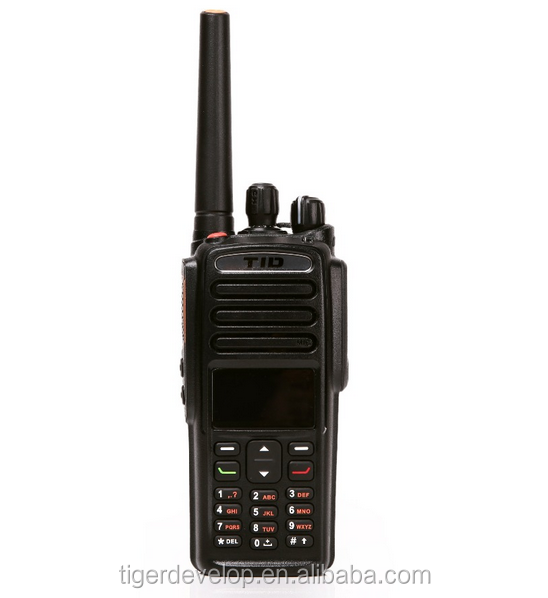 Handheld Digital waterproof IP67 two way radio Td-9800 vhf/uhf dmr radio with hytera